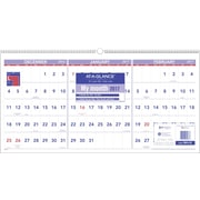 "AT-A-GLANCE® 3 Month Reference Horizontal Wall Calendar, 2017, 23 1/2"" x 12"" (PM14 28 17)"