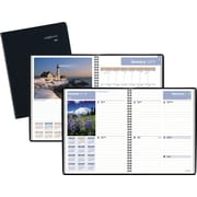 """DayMinder® Weekly/Monthly Planner, 2017, 8 1/4"""" x 10 7/8"""", Scenic (G700-17-17)"""
