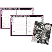 "AT-A-GLANCE® Weekly/Monthly Planner, 2017, 8 1/2"" x 11"", FloraDoodle (189-905-17)"