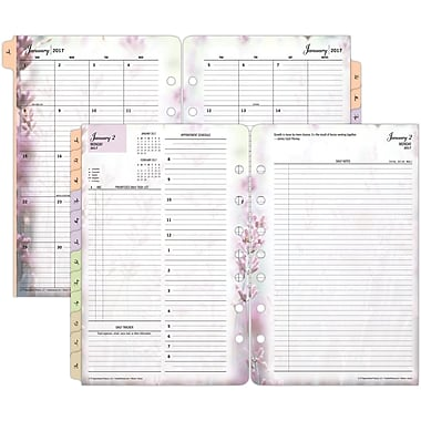 Franklin Covey Two Page Per Day Planner Refill LooseLeaf