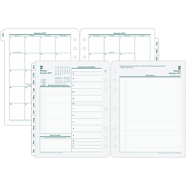Franklin Covey® Original Two Page Per Day Planner Refill, Loose