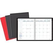 "Staples® Medium Monthly Planner, 2017, 6 7/8"" x 8 3/4"" (12942-17)"