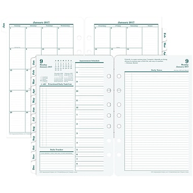 Franklin Covey Original Two Page Per Day Planner Refill Loose