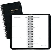 "AT-A-GLANCE® Unruled Weekly Pocket Planner, 2017, 2 1/2"" x 4 1/2"" (70-035-05-17)"