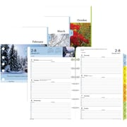 Day Timer Two Page Per Week Serenity Planner Refill, Half Hourly Appointments, 2017, 5 1/2�� x 8 1/2�� (13691... by