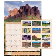 "AT-A-GLANCE® Wall Calendar, 2017, 15 1/2"" x 22 3/4"", Scenic (DMW201 28 17)"