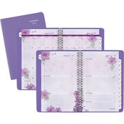 "AT-A-GLANCE® Weekly/Monthly Appointment Book/ Planner, 2017, 4 7/8"" x 8"", Beautiful Day (938P-200-17)"