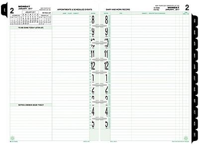 DayTimer PagePerDay Original Planner Refill Desk Size