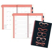 "AT-A-GLANCE® Weekly/Monthly Planner, 2017, 4 7/8"" x 8"", Glasses (125S 200 17)"