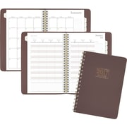 "AT-A-GLANCE® Weekly/Monthly Appointment Book/Planner, 2017, 5 1/2"" x 8 1/2"", WorkStyle Take Charge (WS501 200 17)"