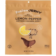 Fusion Lemon Pepper Flavored Chicken Jerky 3oz