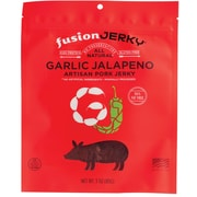 Fusion Garlic Jalapeno Flavored Pork Jerky 3oz