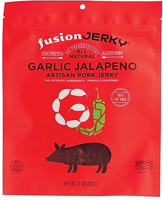 Fusion Garlic Jalapeno Flavored Pork Jerky 3oz