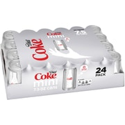 Coca-Cola Diet Coke Mini Cans, 7.5 Oz., 24/Case (00049000061055)