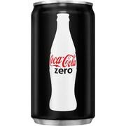 Coca-Cola Coke Zero Mini Cans, 7.5 Oz., 24/Case (00049000061048)