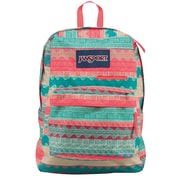 Jansport Digibreak Backpack, Malt Tan Boho Stripe (T50F04G)