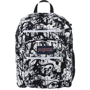 Jansport Big Student Backpack, Black Paintball (TDN70JR)