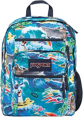 Jansport Big Student Backpack, Wet Sloth