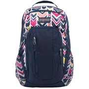 Jansport Beacon Backpack, Navy Water Colored Chevron (A2T3B0JB)