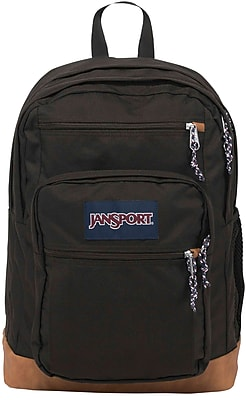 Mens Classic Mainstream Cool Student Backpack - Black / 17.7H X 12.8W X 5.5D