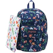 Jansport Digital Student Backpack, Mutli Navy Mountain Meadow