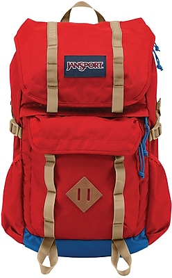 Jansport Javelina Backpack, Red Tape