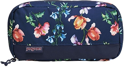 Jansport Pixel Accessory Pouch, Multi Navy Meadow