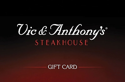 Vic & Anthonys Steakhouse Gift Card $50