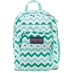 Jansport Student Backpack 17 5 X 13 10 Aqua Chevron Js00tdn70c6