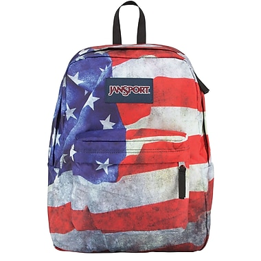 Jansport High Stakes Backpack, American Flag (TRS70GM) | Staples®