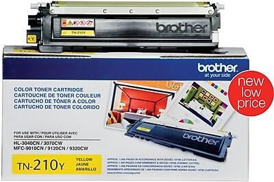 Brother Genuine TN210Y Yellow Original Laser Toner Cartridge