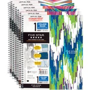 "Mead Five Star Style Wirebound Notebook, 1 Subject, College Ruled, 11"" x 8-1/2"""