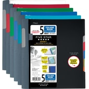 "Five Star® Advance® Wirebound Notebook, 5 Subject, College Ruled, 11"" x 8 1/2"" (06326)"