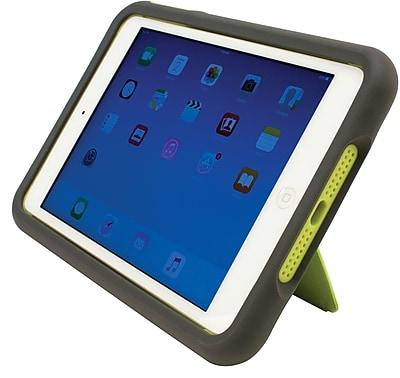 M-Edge Supershell for iPad Mini 2 and 3, Slate/Lime (PM3-SH-N-GL)