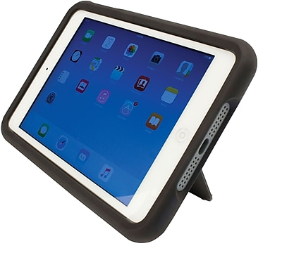 M-Edge Supershell for iPad Mini 2 and 3, Black/Gray (PM3-SH-N-BG)