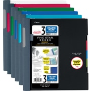 "Five Star® Advance® Wirebound Notebook, 3 Subject, College Ruled, 11"" x 8 1/2"" (06324)"