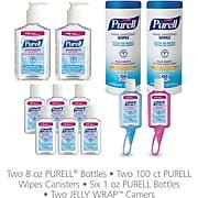 PURELL® Hand Sanitizer Office Starter Kit, 4/Set (9652-K1-EC)
