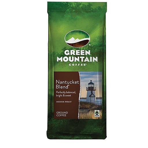 Green Mountain Nantucket Blend Ground Coffee, Medium Roast, 12 oz. (38663)