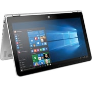 "HP Pavilion x360 Convertible 15-bk010nr, 15.6"", Intel Core i5-6200U Processor, 8 GB RAM, 1 TB SATA, Windows 10, Silver Notebook"