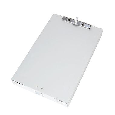 Staples® Aluminum Document Case, Letter, Silver, 9