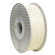 Verbatim 1.75mm PLA 3D Printer Filament Natural Transparent 1KG 2.2LBS Reel (55257)