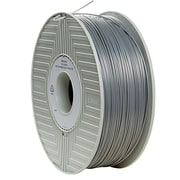 Verbatim 1.75mm ABS 3D Printer Filament Silver 1KG 2.2LBS (55006)