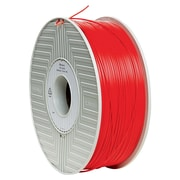 Verbatim 1.75mm ABS 3D Printer Filament Red 1KG 2.2LBS (55003)