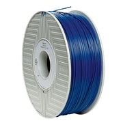 Verbatim 1.75mm ABS 3D Printer Filament Blue 1KG 2.2LBS (55002)
