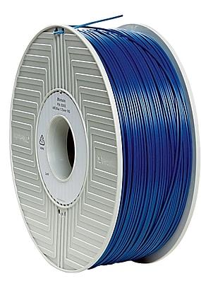 Verbatim 1.75mm ABS 3D Printer Filament Blue 1KG 2.2LBS (55002)