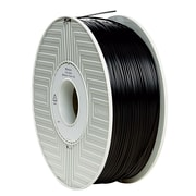 Verbatim 1.75mm ABS 3D Printer Filament Black 1KG 2.2LBS (55000)