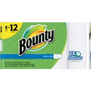 Bounty® Select-A-Size Perforated Paper Roll Towel, White, 95 Sheets/Roll, 8 Rolls/Pack