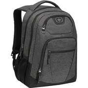 "OGIO® 111137.437 Gravity Nylon/Poly Backpack for 17"" Laptop, Dark Static"