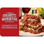 OLD Spaghetti Warehouse Gift Card $100
