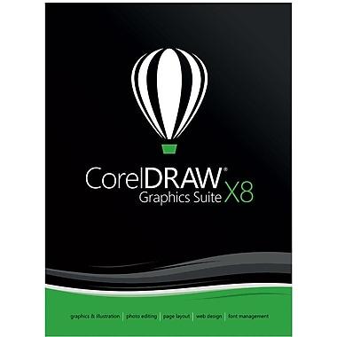 CorelDRAW Graphics Suite X8 for Windows (1 User) [Download]
